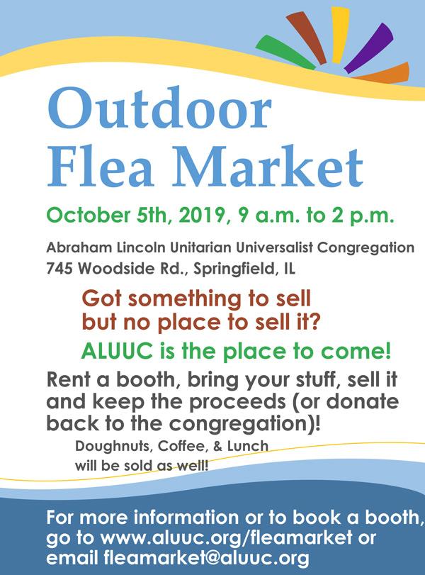 Springfield Illinois Flea Market Flyer Image