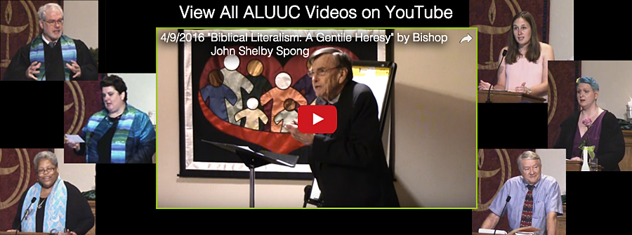 "Looking for a particular sermon or presentation? Our ""ALUUC Service Videos"" on our YouTube Channel ALUUCVideo is your friend. You can find all of our latest sermons."