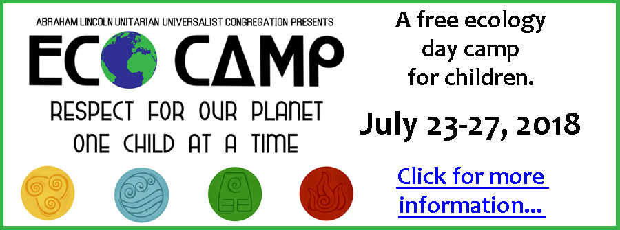 Eco Camp 2018, The Many Forms of Bravery - A Free Ecology Day Camp for Children