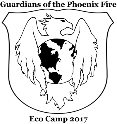 Eco Camp 2017, Guardians of the Phoenix Fire, July 24-28, 2017.